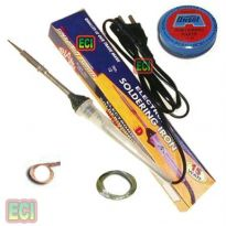 15W Soldering Iron Kit, Solder Wire, Paste, D Wick
