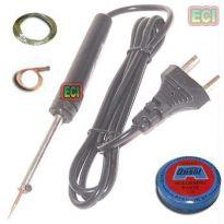 8W Soldering Iron Kit, Solder Wire, Paste, D Wick
