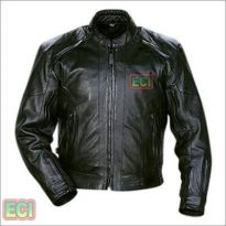 Premium Cimmaron Leather Bikers Jacket - Black