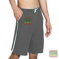 Gents Grey Shorts Jogging Nicker, Men Hosiery Cotton Bermuda Half Pant