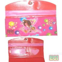 Kids Wallet Trendy Purse Bright Color Girls Gift