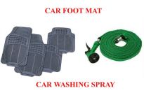 Car Foot Mat Car Washing Jet Spray Gun Water Hose Pressure Pipe