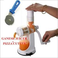 Ganesh Fruit & Vegetable Juicer + Pizza Cutter.