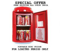 Portable Hot & Cold Mini Fridge Can Shaped 11 LTR