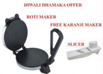 Roti Maker + Slicer With Safety Holder.