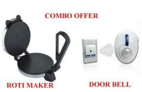 Electric Roti Maker With Free Door Bell.