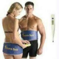 Sauna Slim Fit Belt With Digital Thermometer.