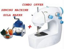 Ice Gola Slush Maker For Parties + Sewing Machine.