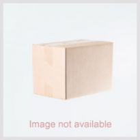 Traditional Sky Blue Design Brass Necklace Set 136