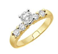 0.50 CT ENGAGEMENT 14K GOLD DIAMOND RINGS INTR0033