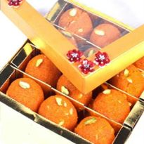 Ghasitarams Motichoor Ladoo Box -Women Day
