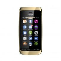 Nokia Asha 308 Dual Sim Mobile Phone (Golden Lite)