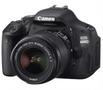 Canon DSLR EOS 600D + Kit II EF S18-135mm IS Lens