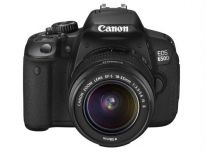 Canon DSLR EOS 650D + Kit II EF S18-135mm IS Lens