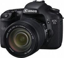 Canon DSLR EOS 7D + Kit II EF S18-135mm IS Lens