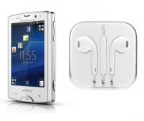 Hi Definition Stereo Earpods With Mic For Sony Ericsson Xperia Mini Pro