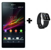 Sony Xperia Z Smartphone + Sony MN2 Android Watch