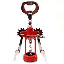 Wine Soda Bottle Cork Screw Opener Bar -04