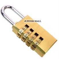 4 Digit Bag Travel Pad Lock Resettable Padlock 01