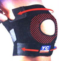 Leg Knee Joint Protection Support Bandage Guard 04