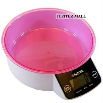 5kg Kitchen Weight Weighing Scale 11lb W Bowl - 03