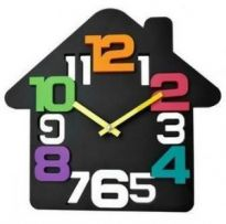Medi Brand 3D House 3D Numbers Designer American Wall Clock