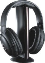 208 Branded 6 in 1 Wireless Headphone With Fm Radio Mic Pc Chat