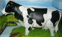 Smart Milk Cow With Walking And Shaking Head Tail