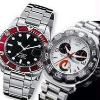 Trendy Chrono Watches - Set Of Two