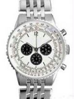 Silver 2 Tone Chrono Watch - Opulence Series