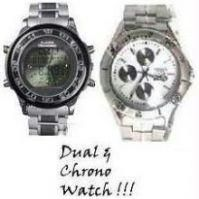 Set Of Dual & Chrono Watch