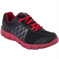 Fitz Black Red Sports Shoes