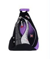 Fitz Purple Black Sling Bag W11-148.