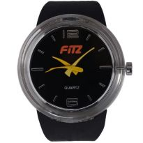 Fitz Black/yellow Analog Watch