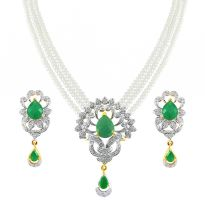 Jpearls Princess Aoura Pearl Necklace Set - Gift Center