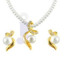 Jpearls Aabha Pearl Pendent Set - Her