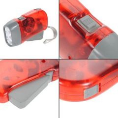 Emergency Lamps - Hand Pressing Flashlight Torch- Battery Not Required
