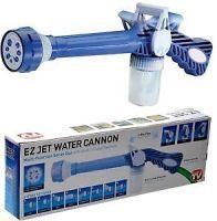 Millennium 8in 1 Heavy Duty Ez Jet Water Cannon Turbo Water Spray Gun For Car, Home Or Garden