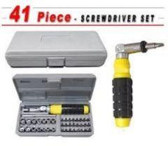Tool Sets - Imported 41 Piece Professional Screwdriver Bit & Socket Set
