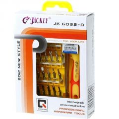 Jackly 32 In 1 Magnetic Screw Driver Toolkit