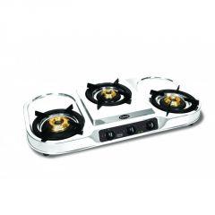 Burners - Padmini 3 Burner Gas Stove Cs-307 With Dip Tray