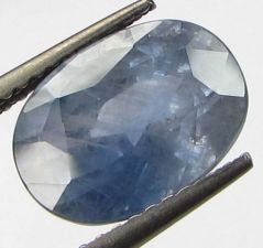 CERTIFIED 4.82Cts{5.35 Ratti}UNHEATED NATURAL CEYLON BLUE SAPPHIRE/NEELAM
