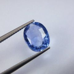 Git Certified 4.50ct {5 Rati} Unheated Natural Ceylon Blue Sapphire