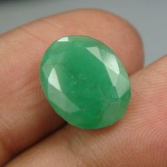 Lab Certified 4.70Cts Natural Untreated Emerald/Panna