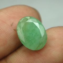 Lab Certified 4.94Cts Natural Untreated Emerald/Panna