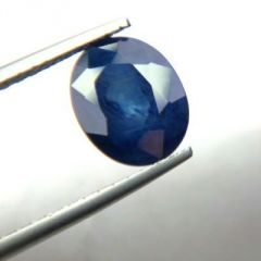 Top 4.25 Ct Certified Natural Blue Sapphire/neelam
