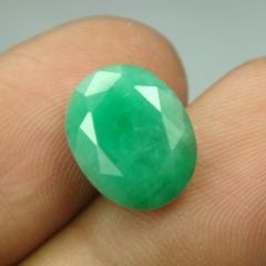 Lab Certified 5.11Cts Natural Untreated Emerald/Panna