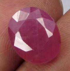 Lab Certified Top Grade 6.30cts Unheated/untreated Natural Ruby