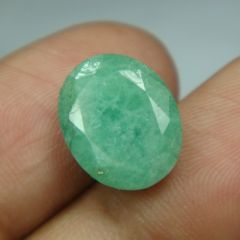 Lab Certified 6.92Cts Natural Untreated Emerald/Panna