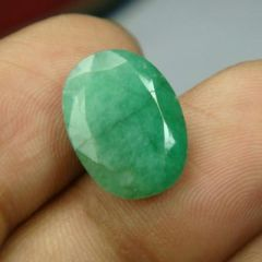 CERTIFIED 7.16Cts Natural Untreated Emerald/Panna